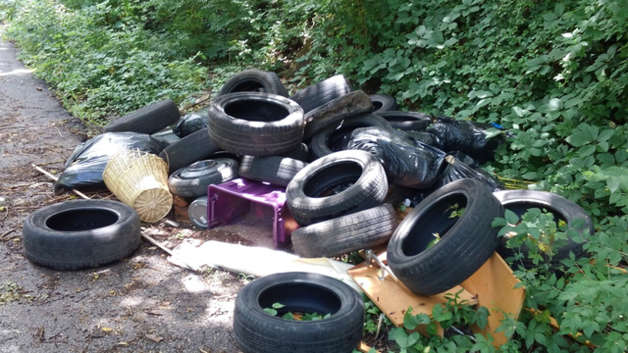 KCMO seeks to ID suspected illegal dumper