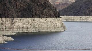 Lake Mead Colorado River Drought Plan AP Photo