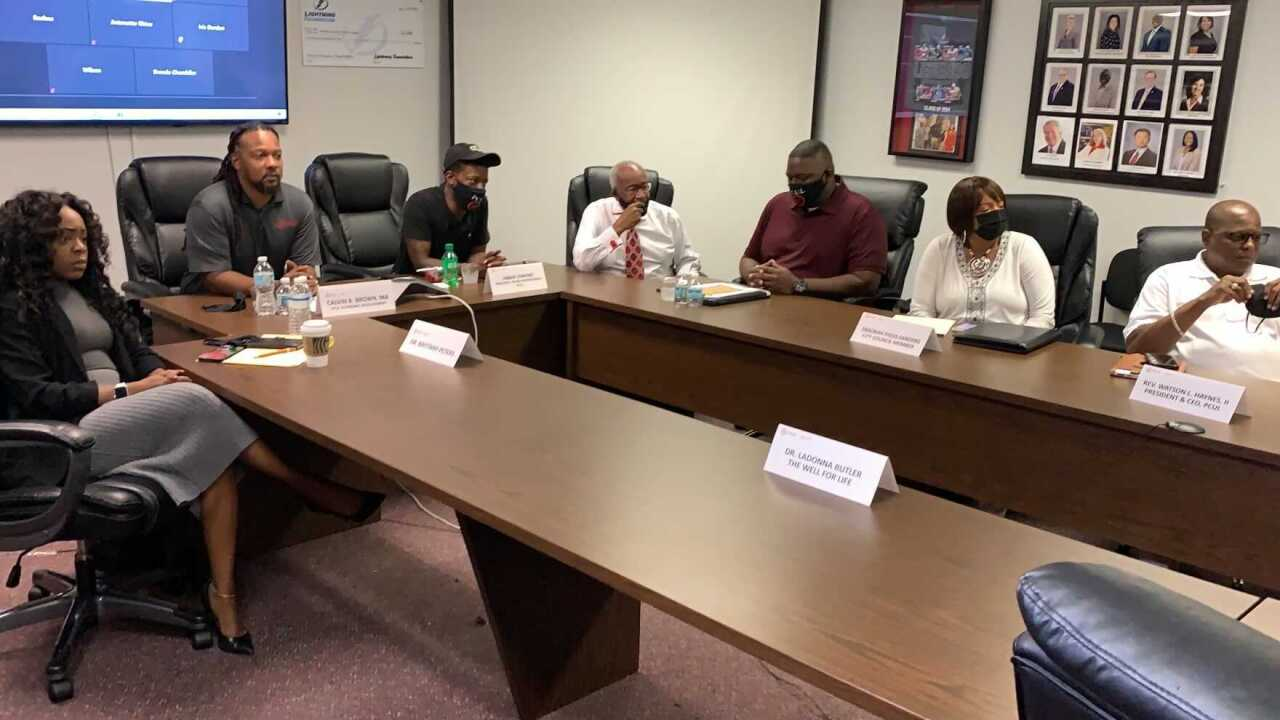 St. Pete leaders meet to discuss growth of violence in the area