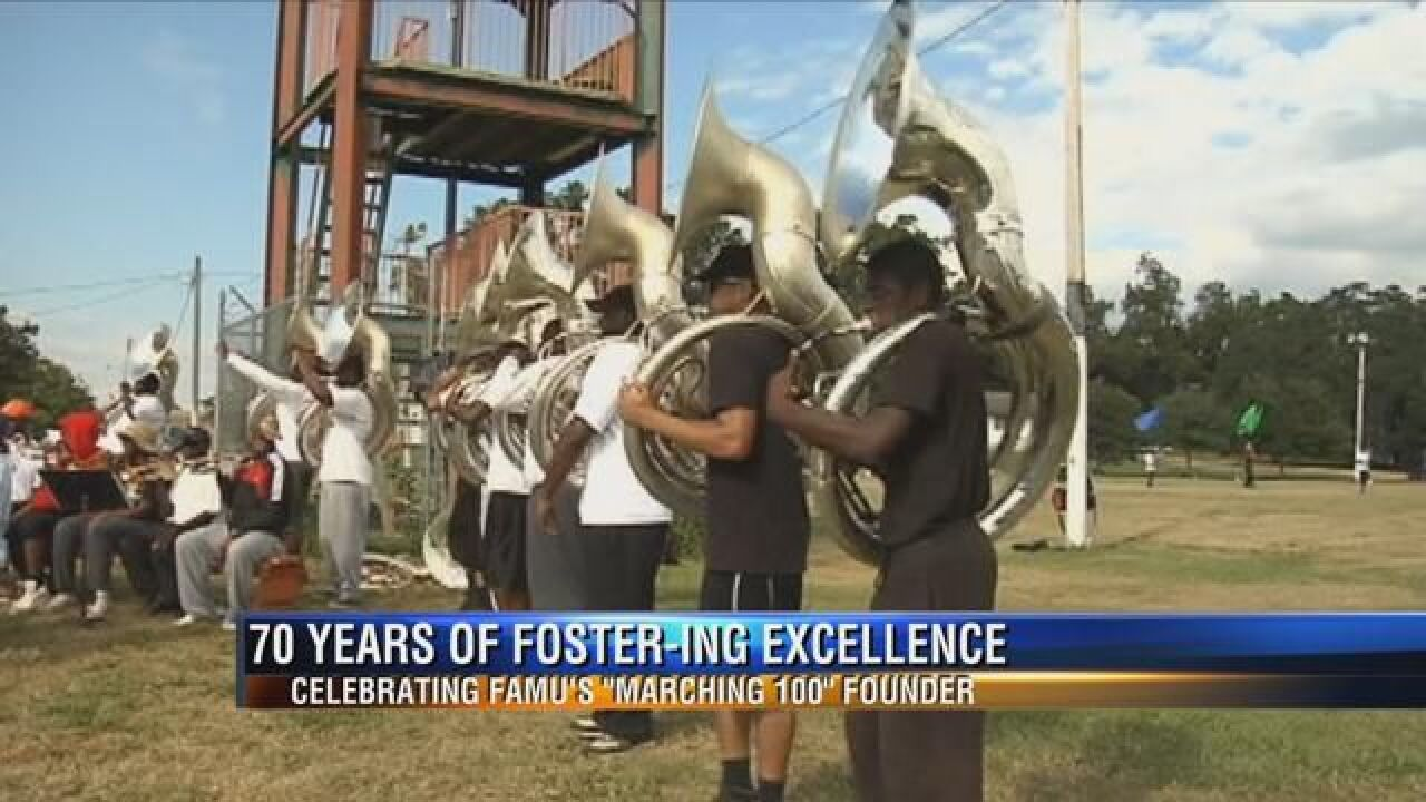 Exhibit Opens Celebrating FAMU's Marching 100 and Its 70 Years of Excellence
