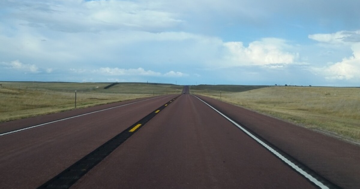 Driving You Crazy: Does the red pavement on Wyoming highways