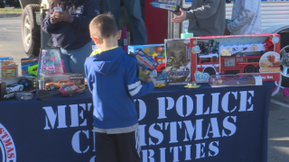 Metro Police collecting toys for children in need this Christmas