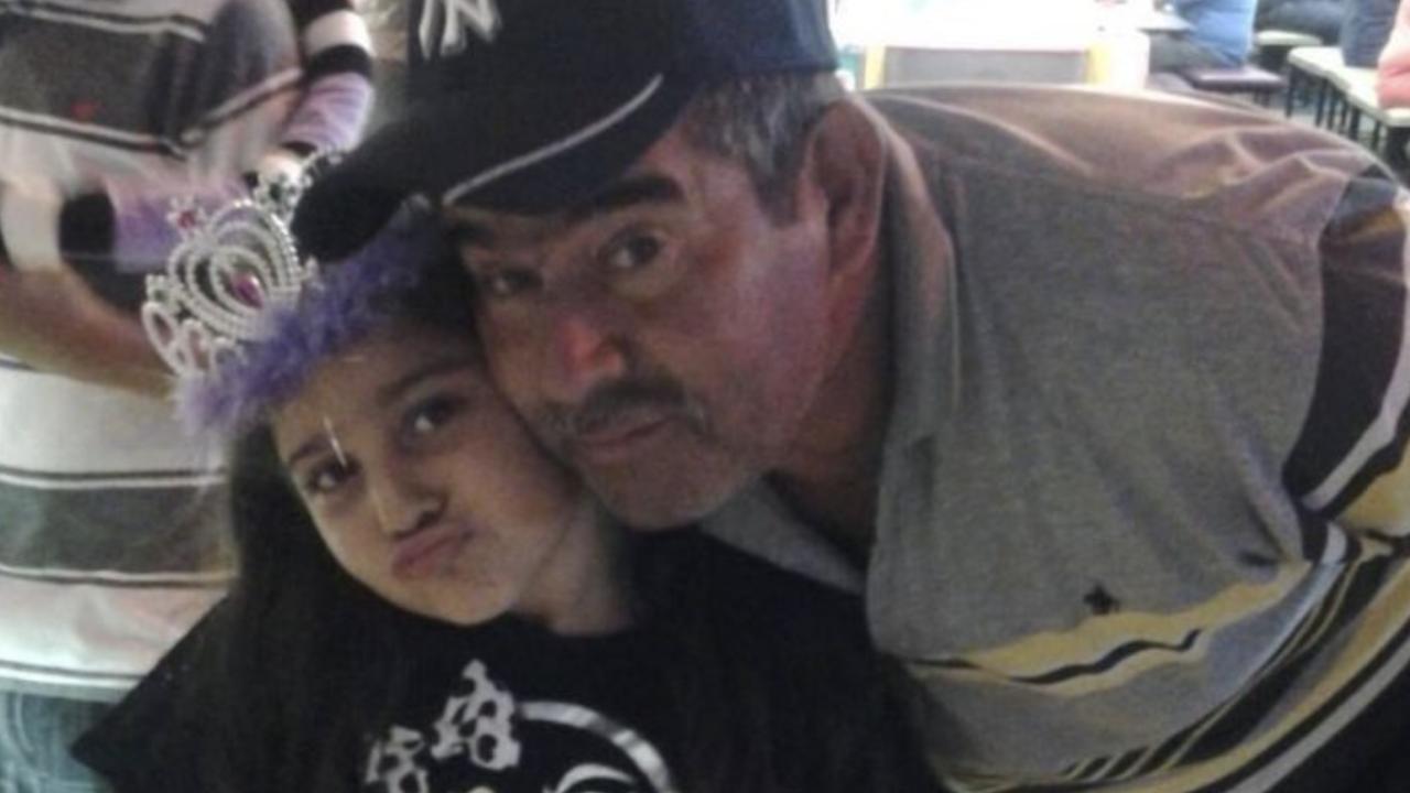 Luis Alvarez and daughter Valeria