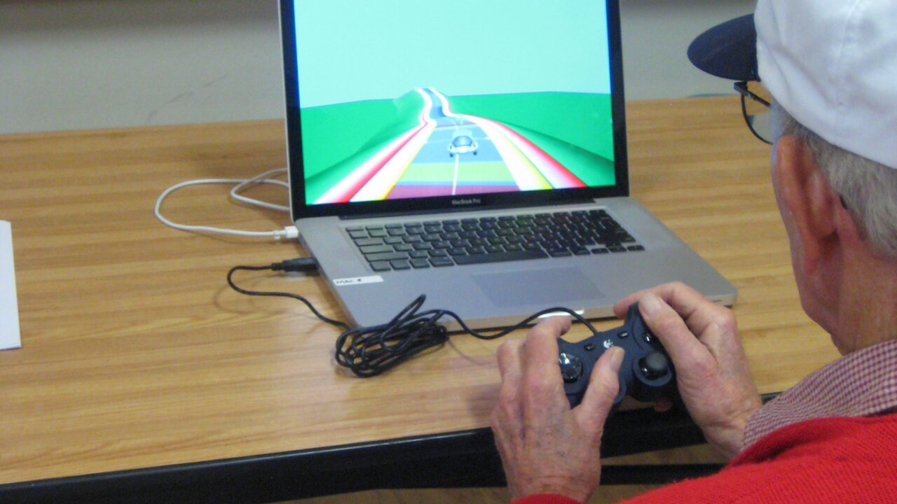 Senior citizens become new generation of video game players