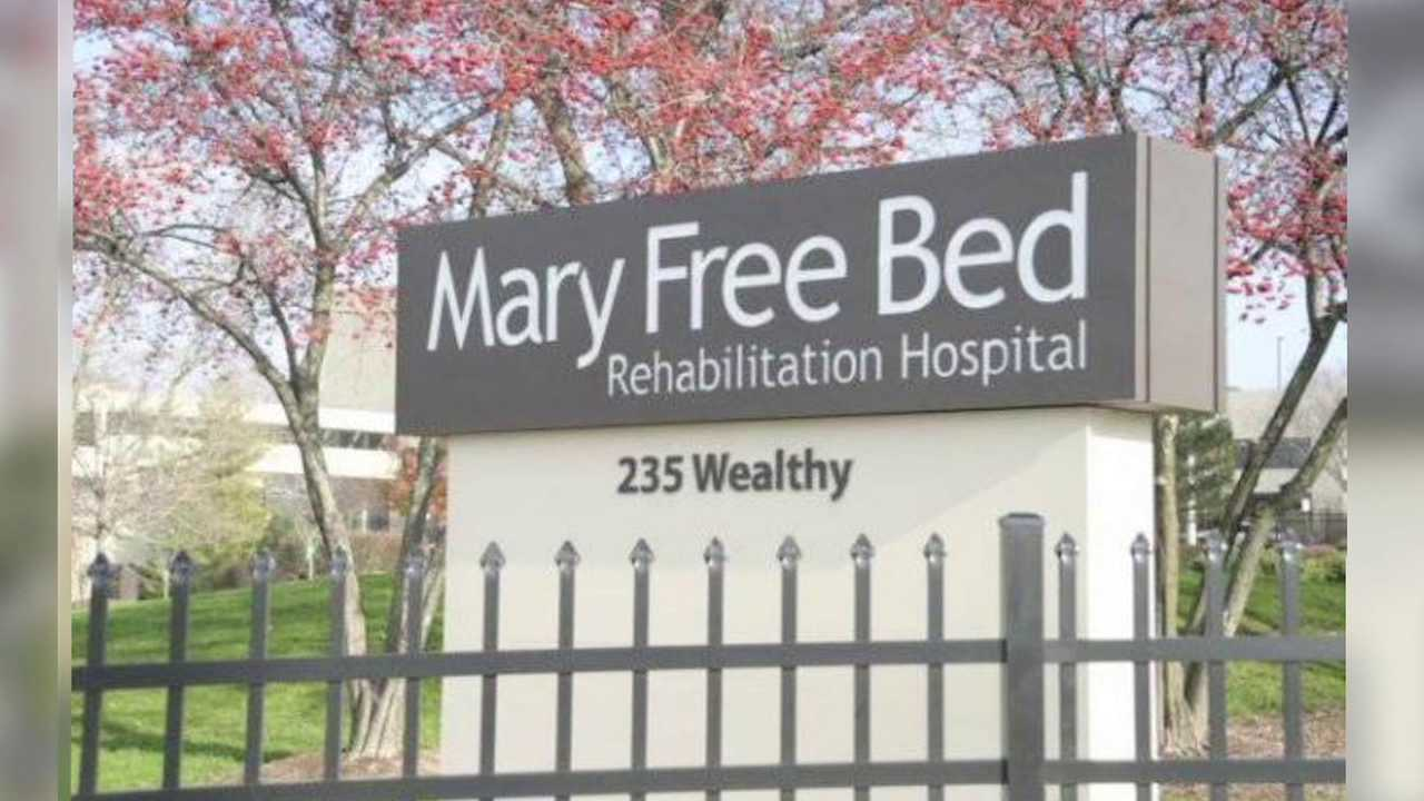 Mary Free Bed Sign