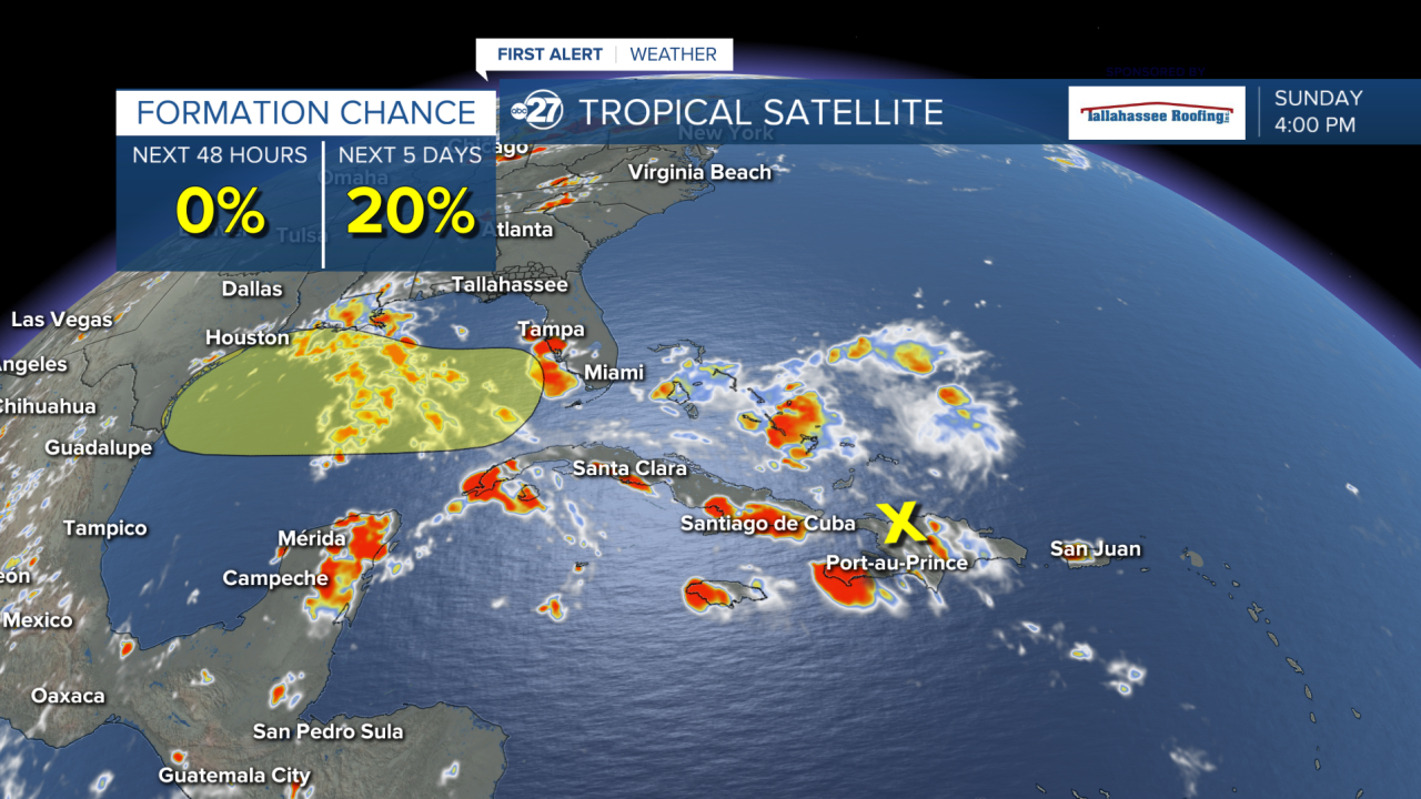 National Hurricane Center Watching For Tropical Development In Gulf Of Mexico This Week