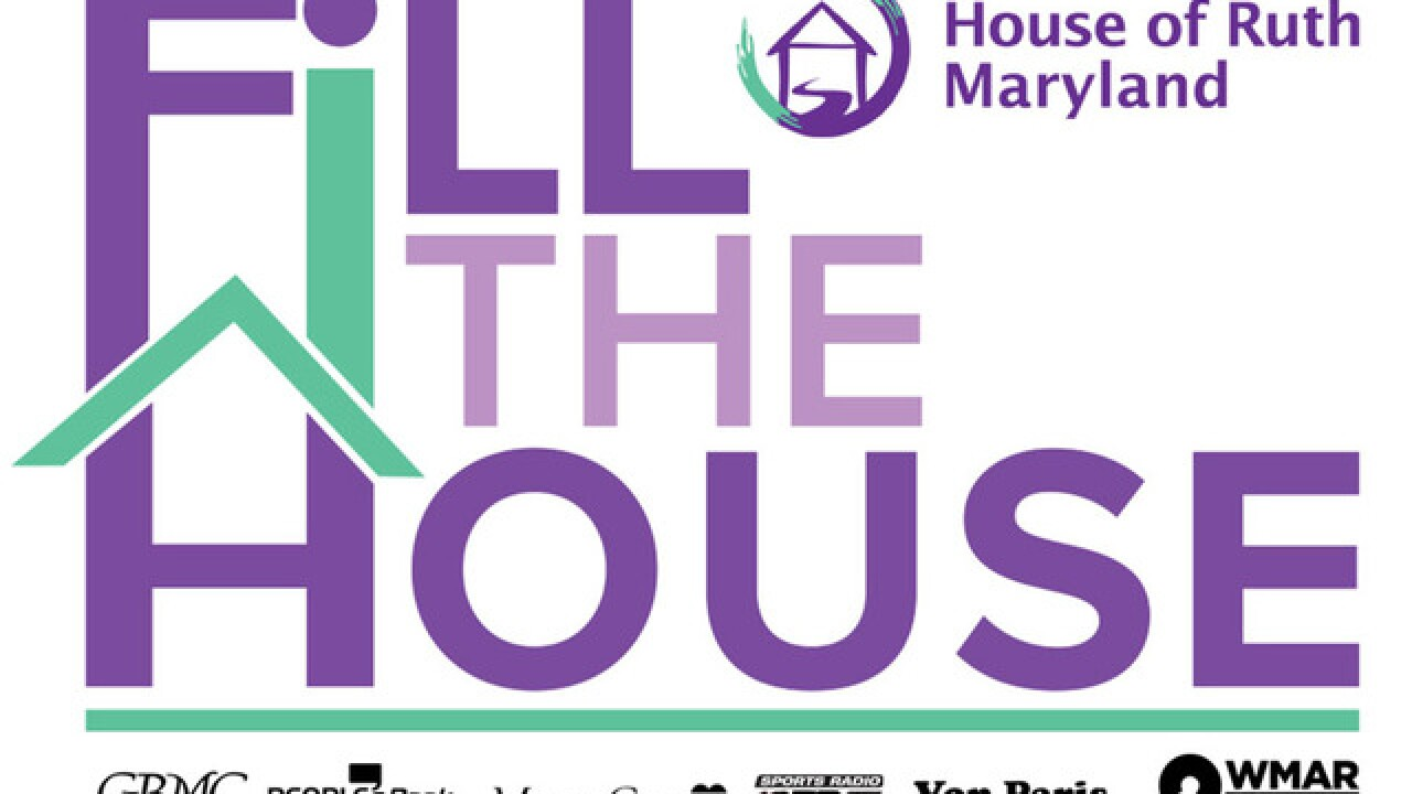 "WMAR 2 News partners with House of Ruth Maryland to ""Fill the House"""