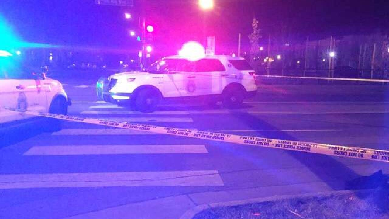 Pedestrian injured in hit-and-run