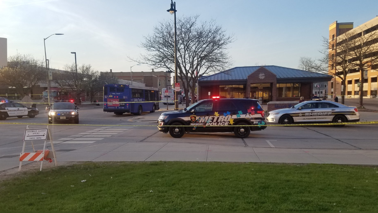Police presence in downtown Appleton
