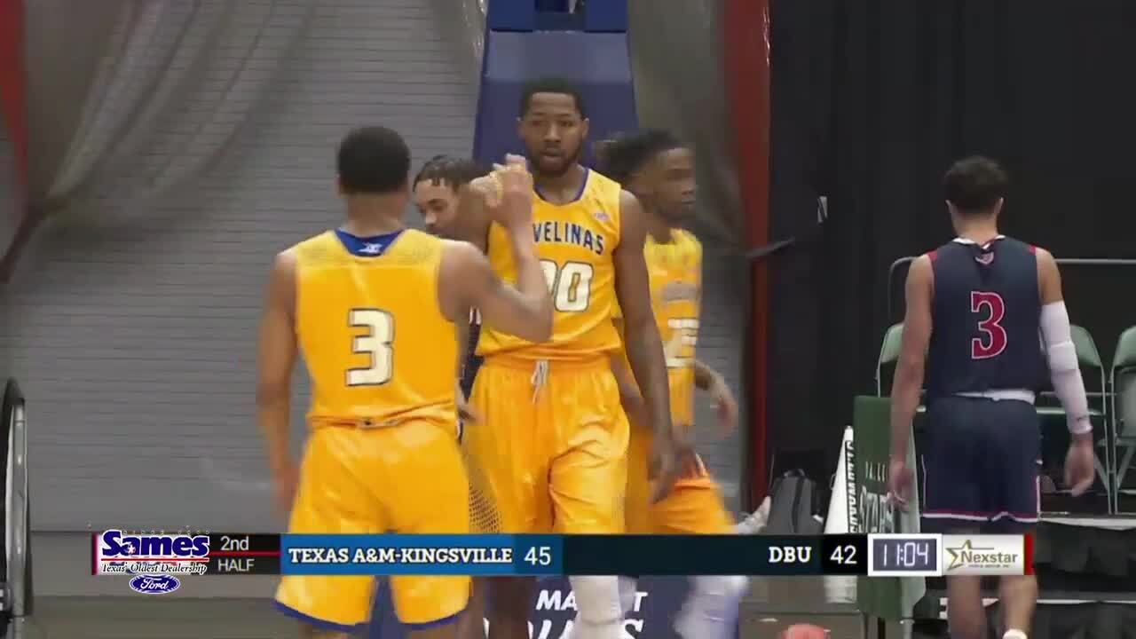 Javelinas advance in Lone Star Conference hoop tournament