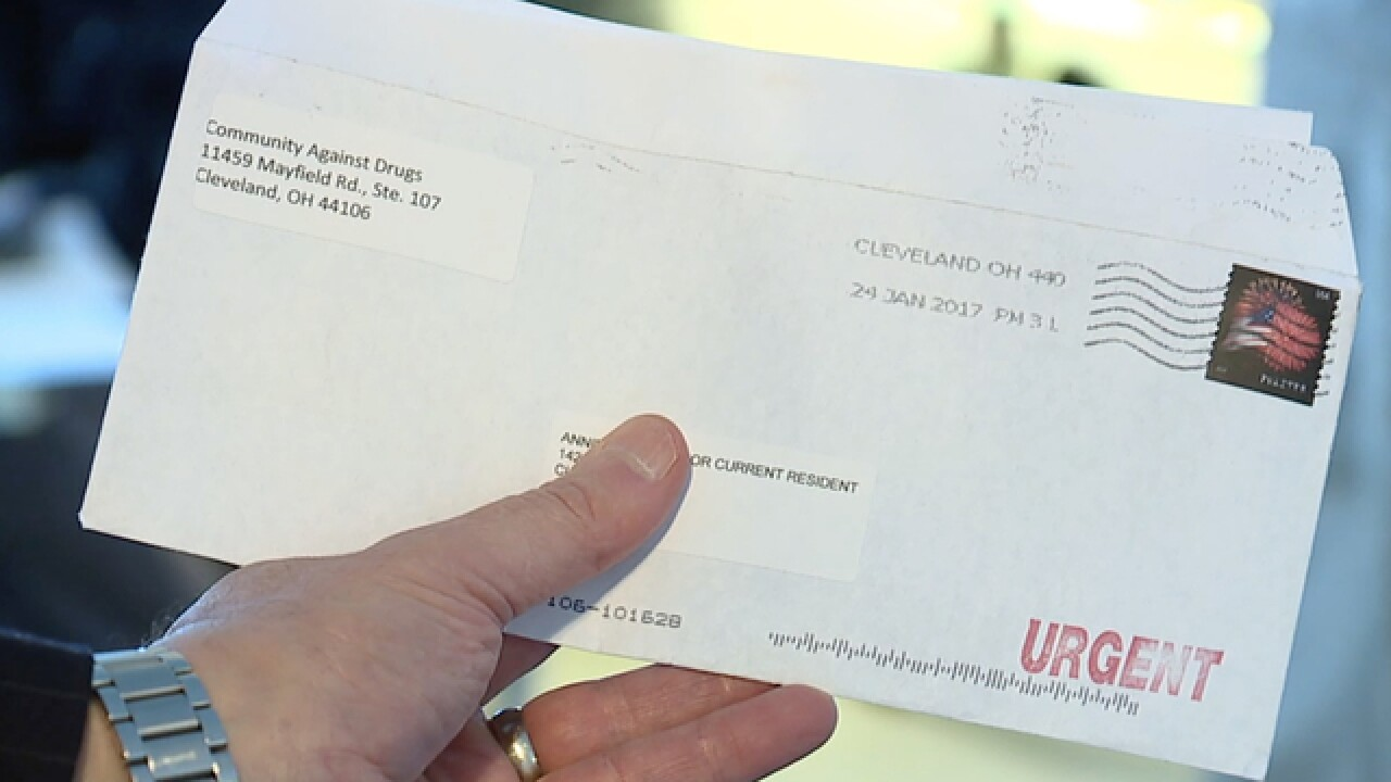 Couple has harrasing letters sent to neighbors