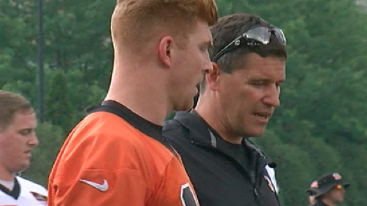 Andy Dalton's aim: Put big play back in Bengals' offense