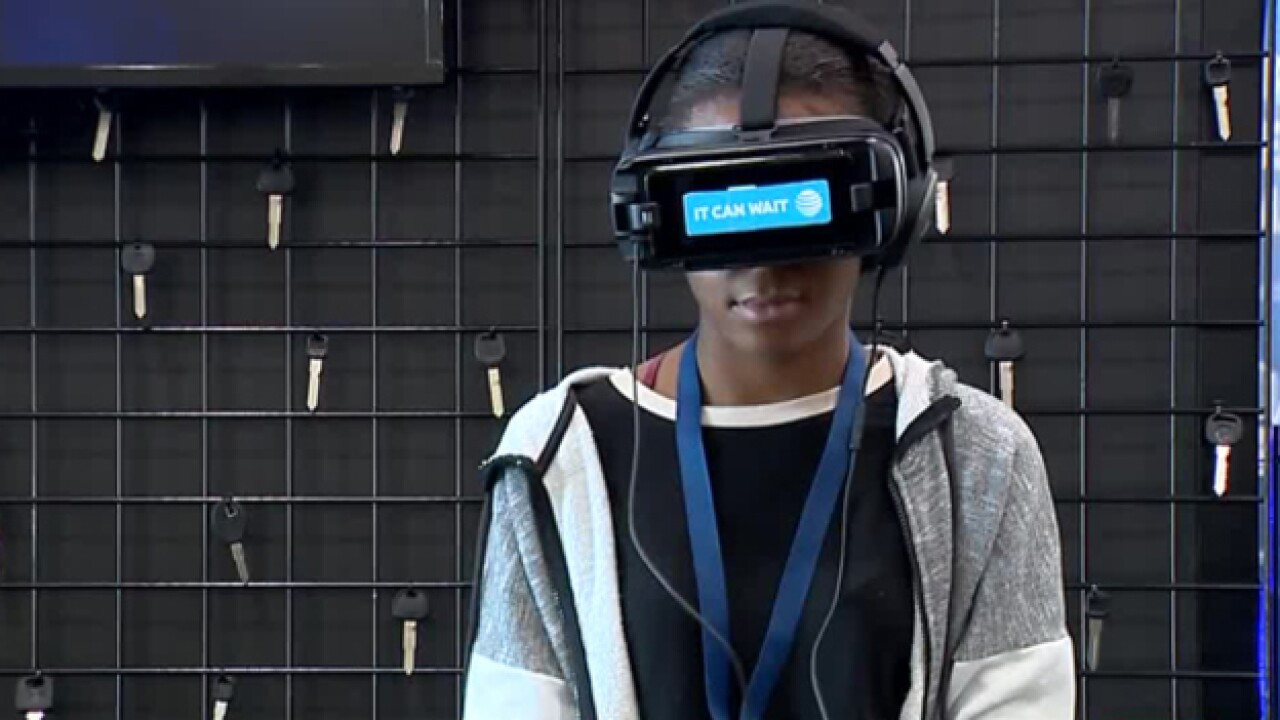 AT&T VR Simulator Aims To Curb Distracted Driving