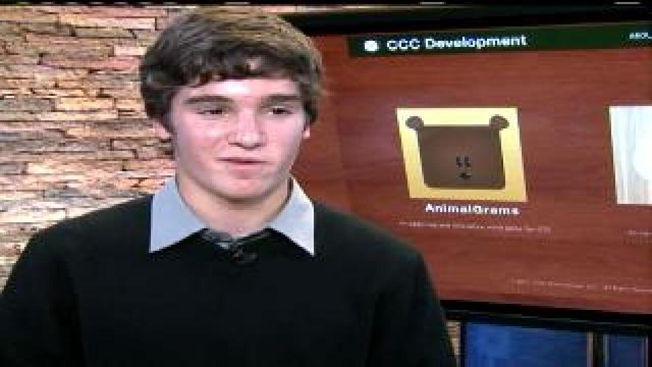 Teen creates apps, donates to cancer research