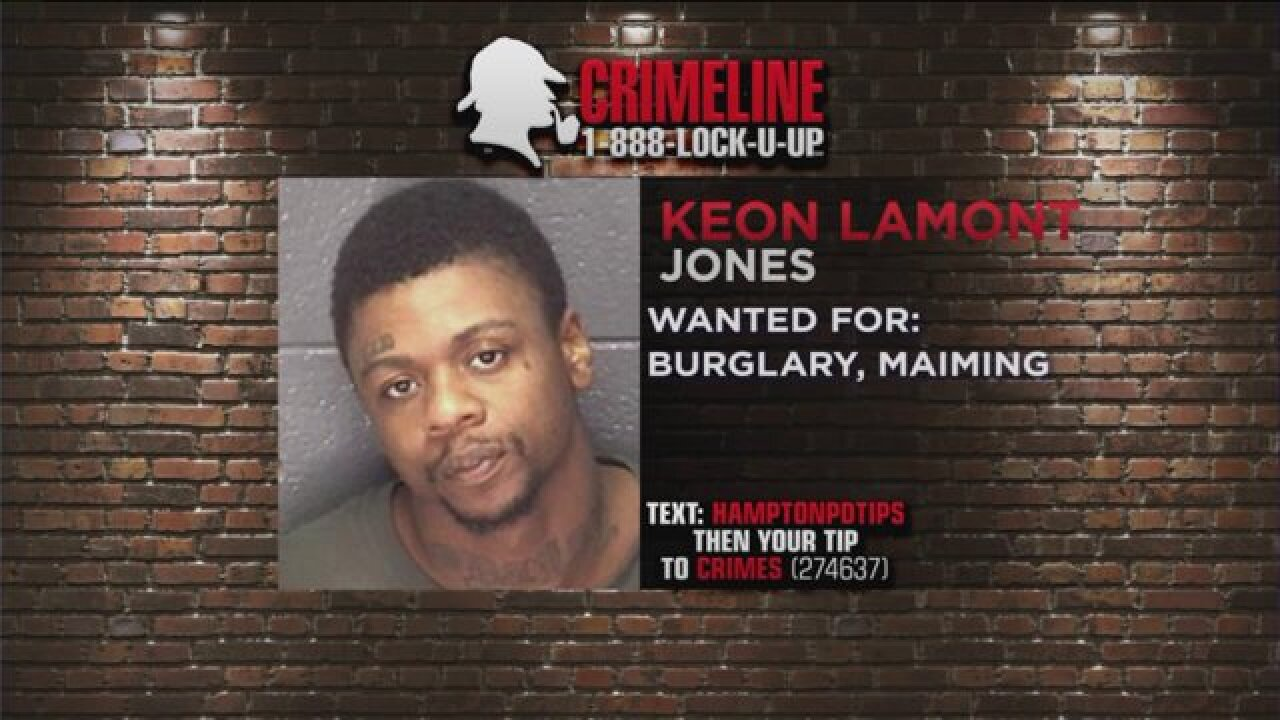 Taking Action Against Crime: Hampton Police looking for Keon Jones