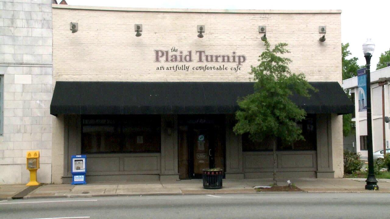 The plaid turnip