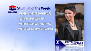 Student of the Week Ashley Alexander