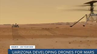 UArizona working to help drones explore Mars