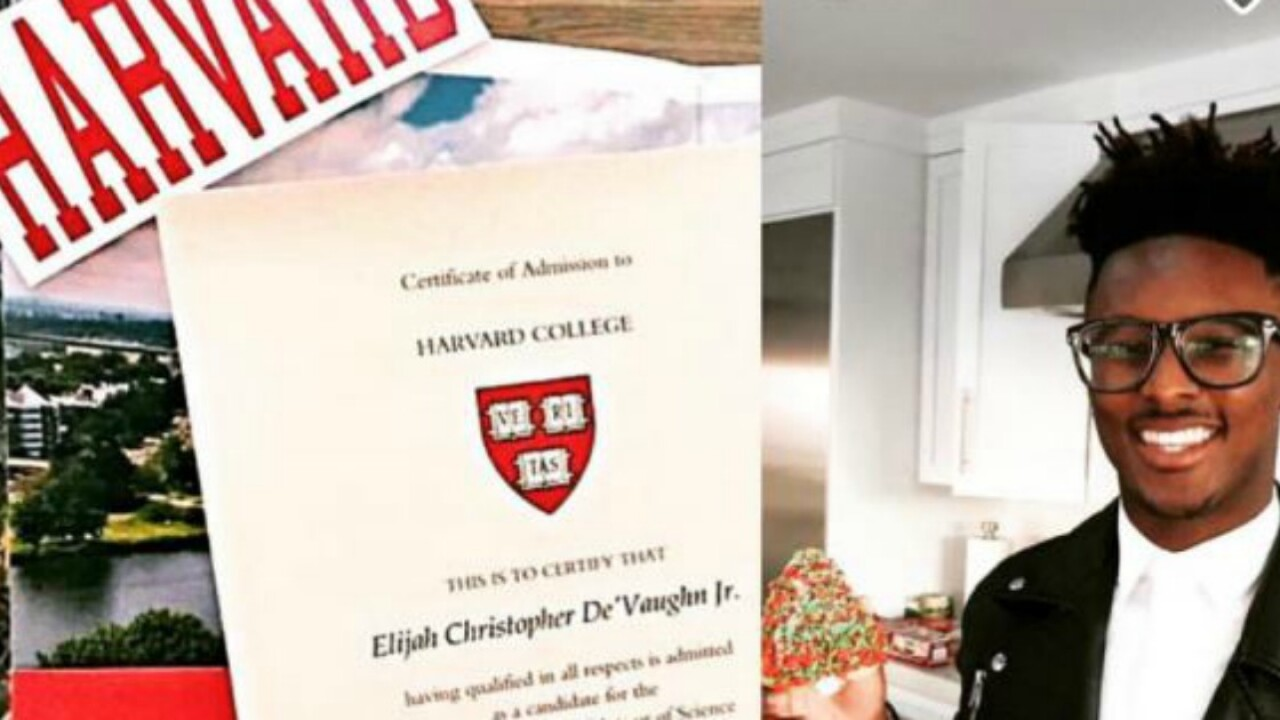Compton teen gets into Harvard; thanks his mom