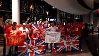 Luke Kiff United Kingdom Chiefs fan