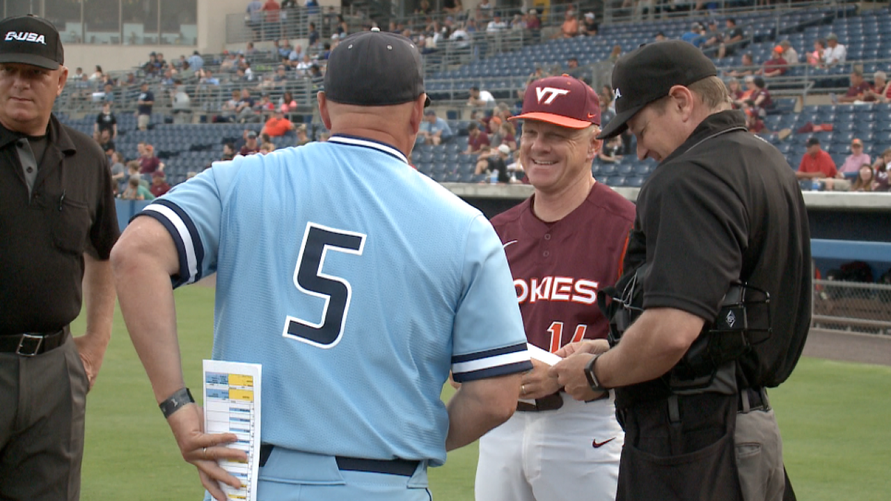 Commonwealth Classic conquest: ODU baseball tops Virginia Tech at Harbor Park
