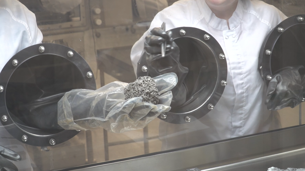 Inside NASA's Lunar Lab, where the Moon's rocks are studied