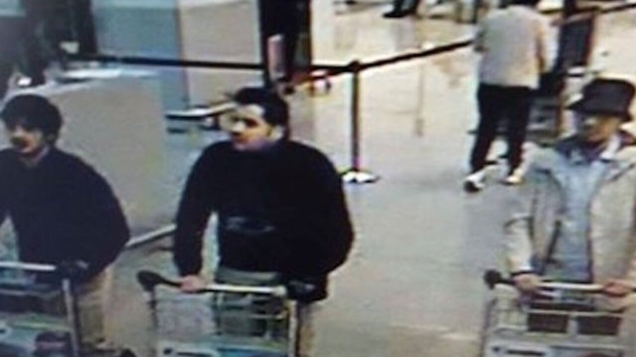 Manhunt underway for Brussels bombing suspect