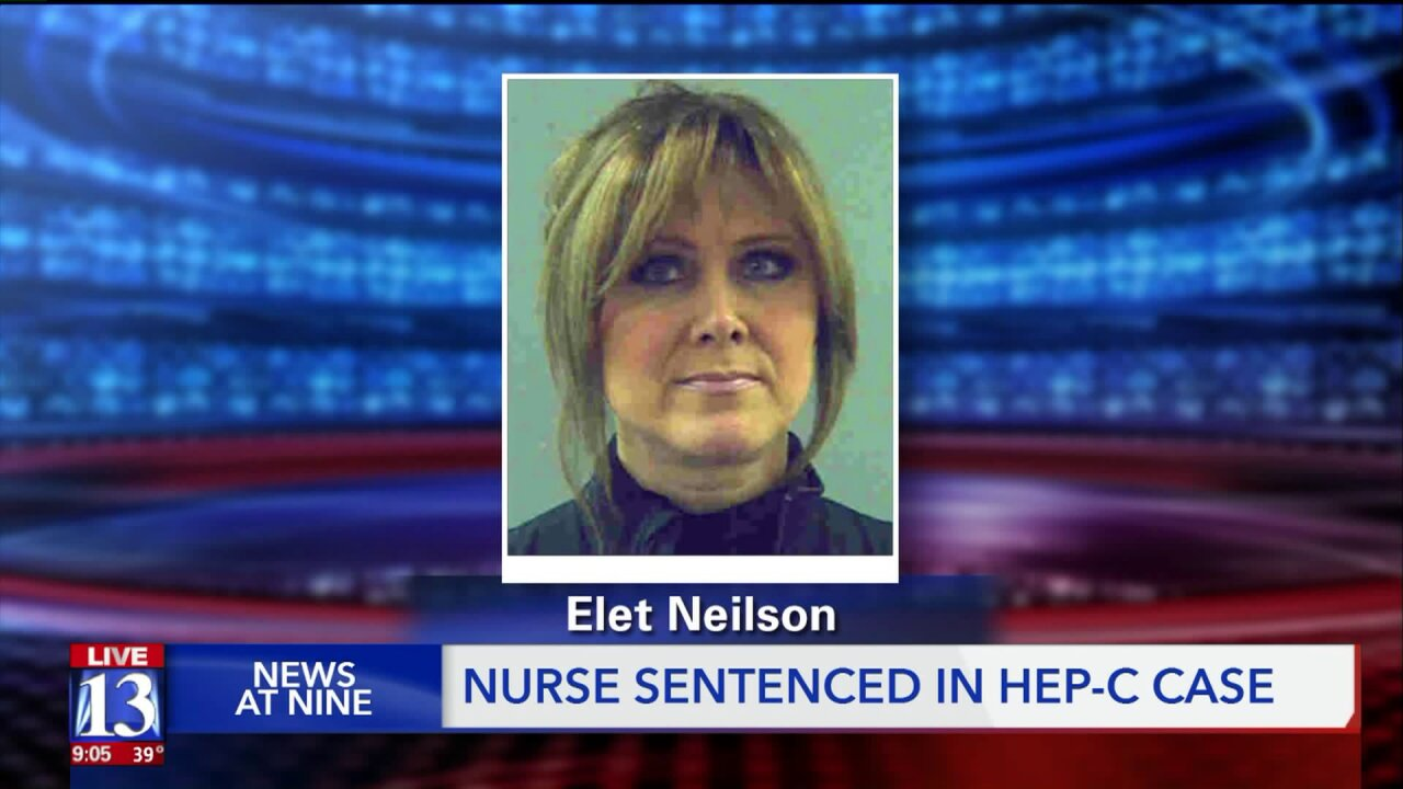 Utah opioid nurse sentenced to 5 years for spreading hepatitis C