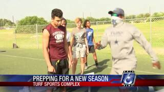 Turf work keeping local athletes fit for upcoming season