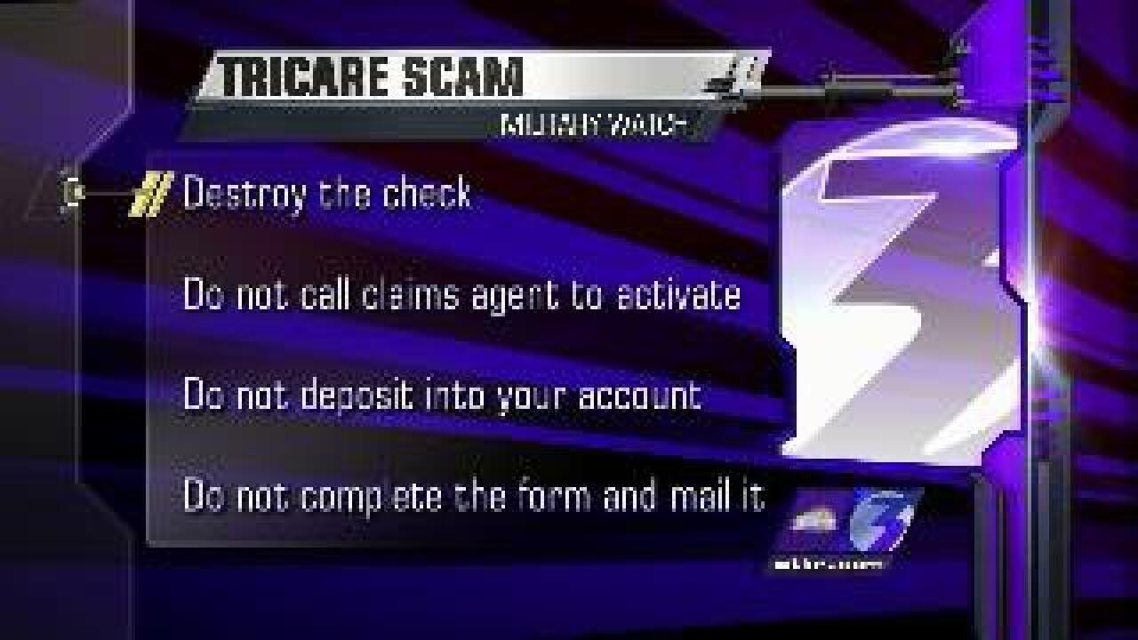 Scammers target service members