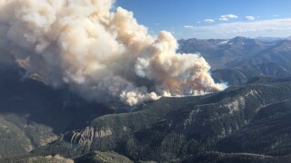 New fire ignites west of Cody near Yellowstone National Park