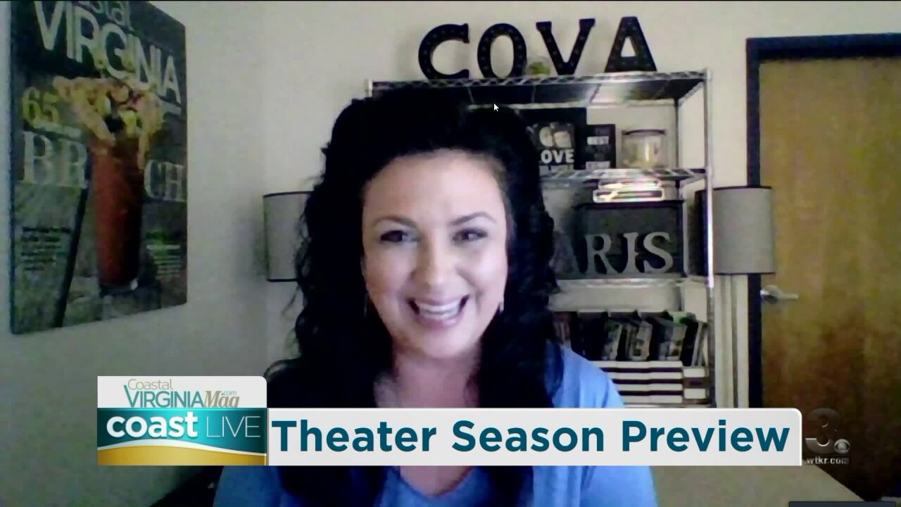 Previewing the upcoming local theater season with CoVa Magazine on Coast Live