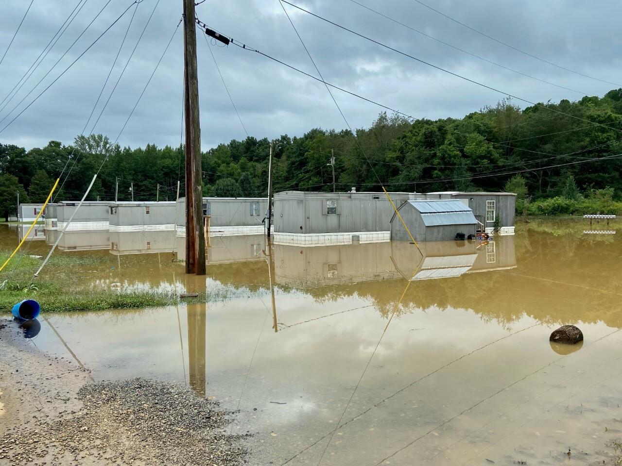 dickson flooding 8/21/21