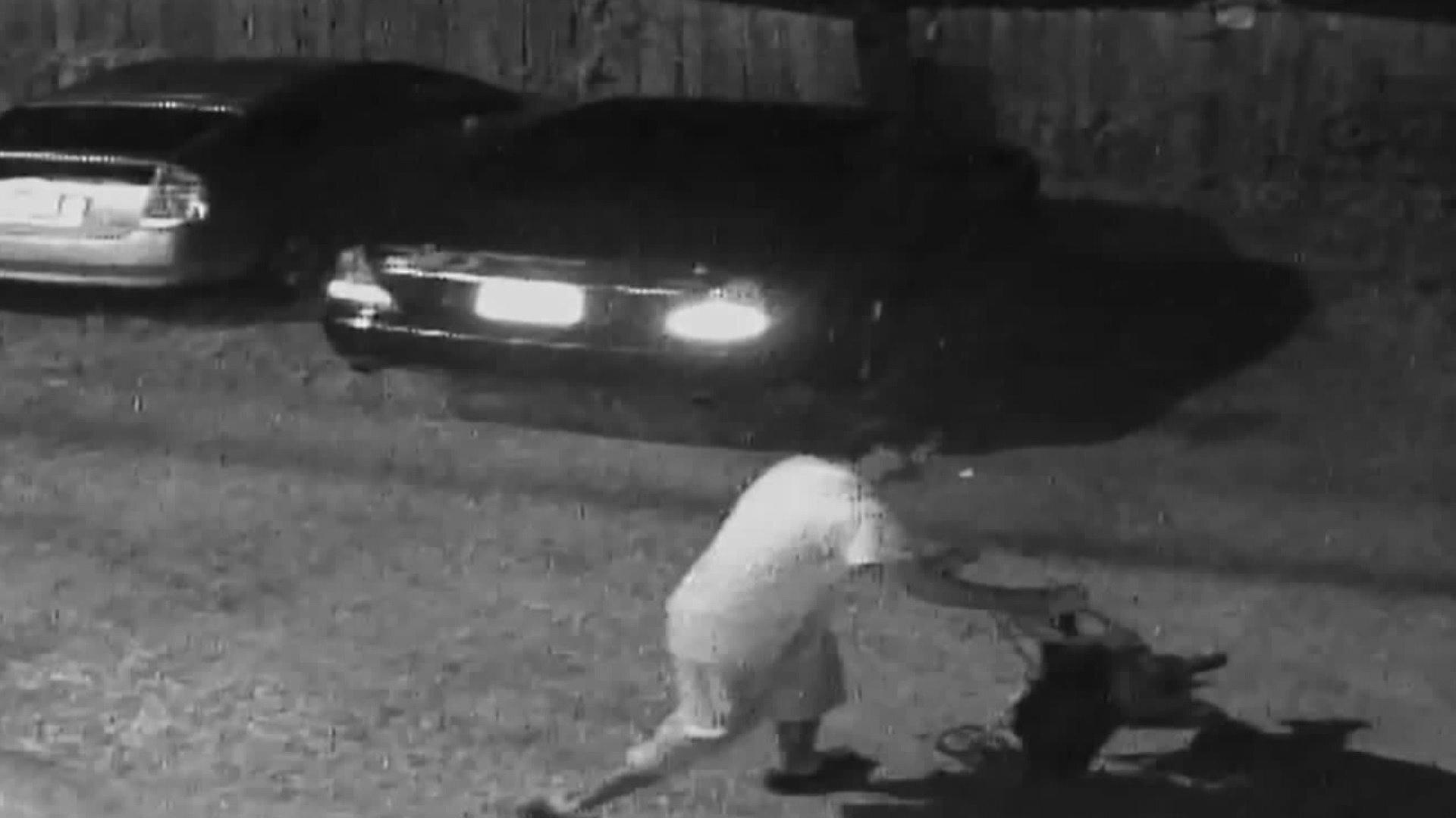 Photos: Man strolling toddler wanted in Jackson Ward carbreak-ins
