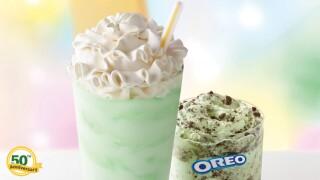 Shamrock Shake returns to McDonalds on Feb. 19 with Oreo Shamrock McFlurry