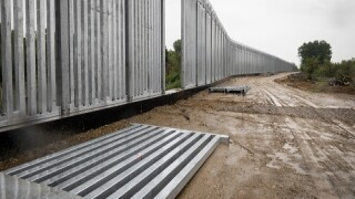 EU Tests New Walls, Sound Barriers To Keep Migrants Out