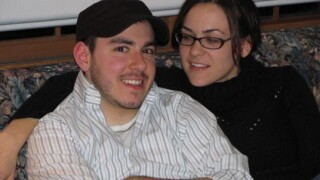Paul Farris and his girlfriend Kate Hoyt in 2007