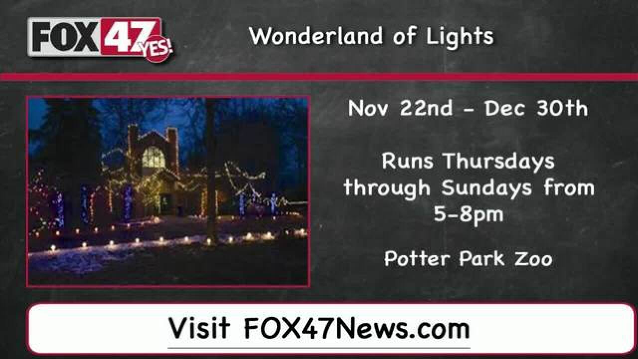 Around Town Kids 11/16/18: Wonderland of Lights