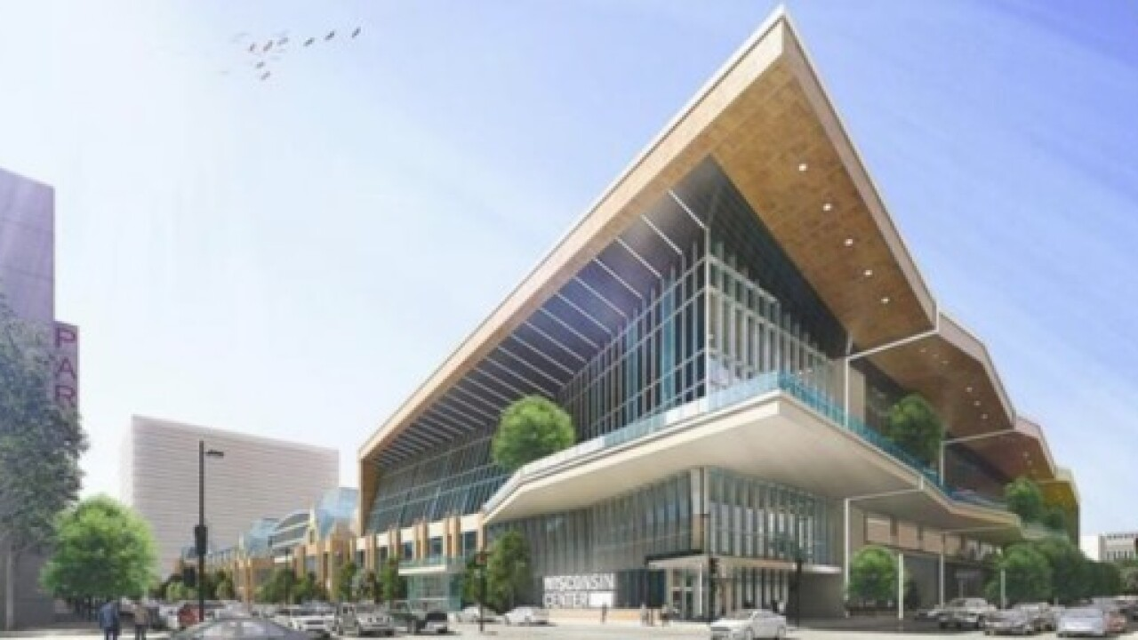 Look inside possible Wisconsin Center expansion