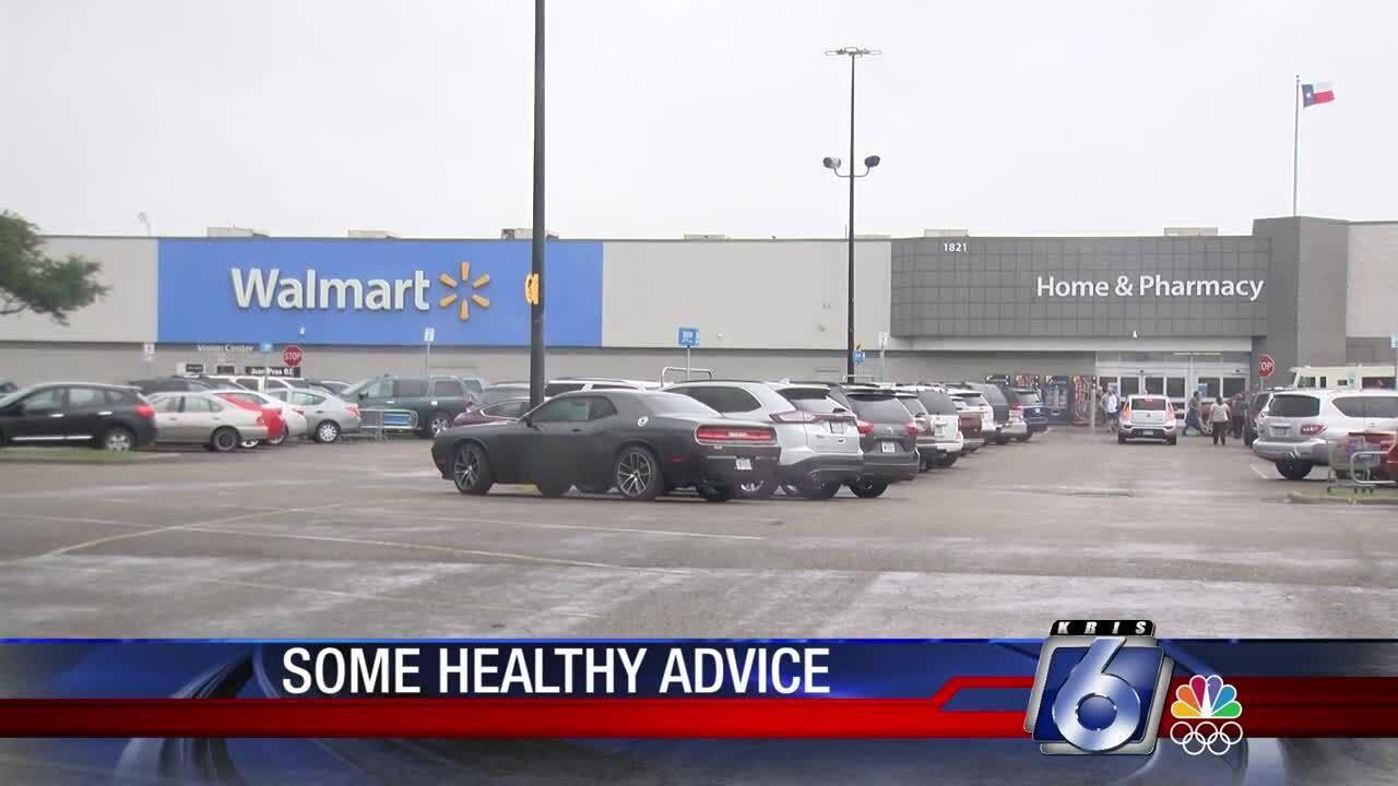 Walmart health screenings