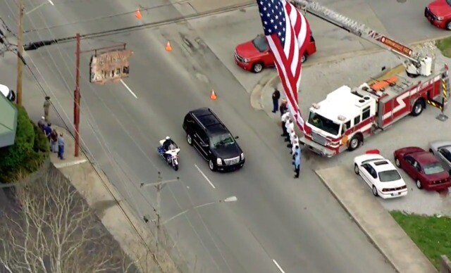 Photos: Officer Meacham Honored In Kentucky