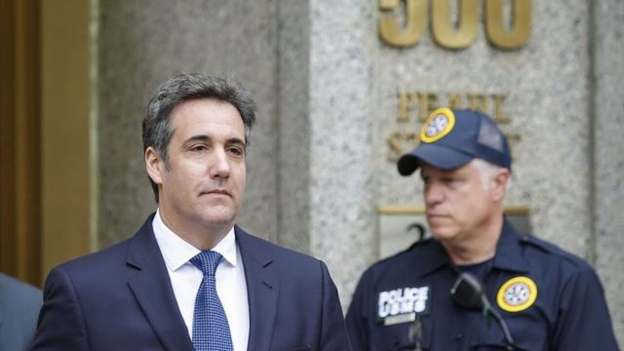 Michael Cohen seeks restraining order to stop Stormy Daniels' lawyer from speaking to the press