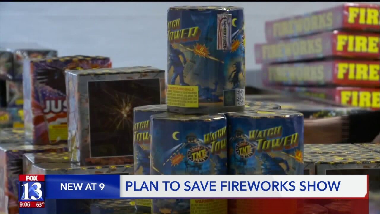 Plain City residents rescue 4th of July fireworkshow
