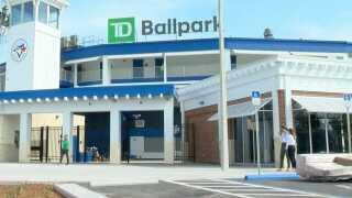 TD ballpark- blue jays
