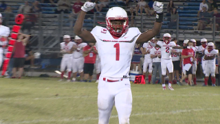 Princess Anne football player Tony Grimes has offers from 32 college footballprograms