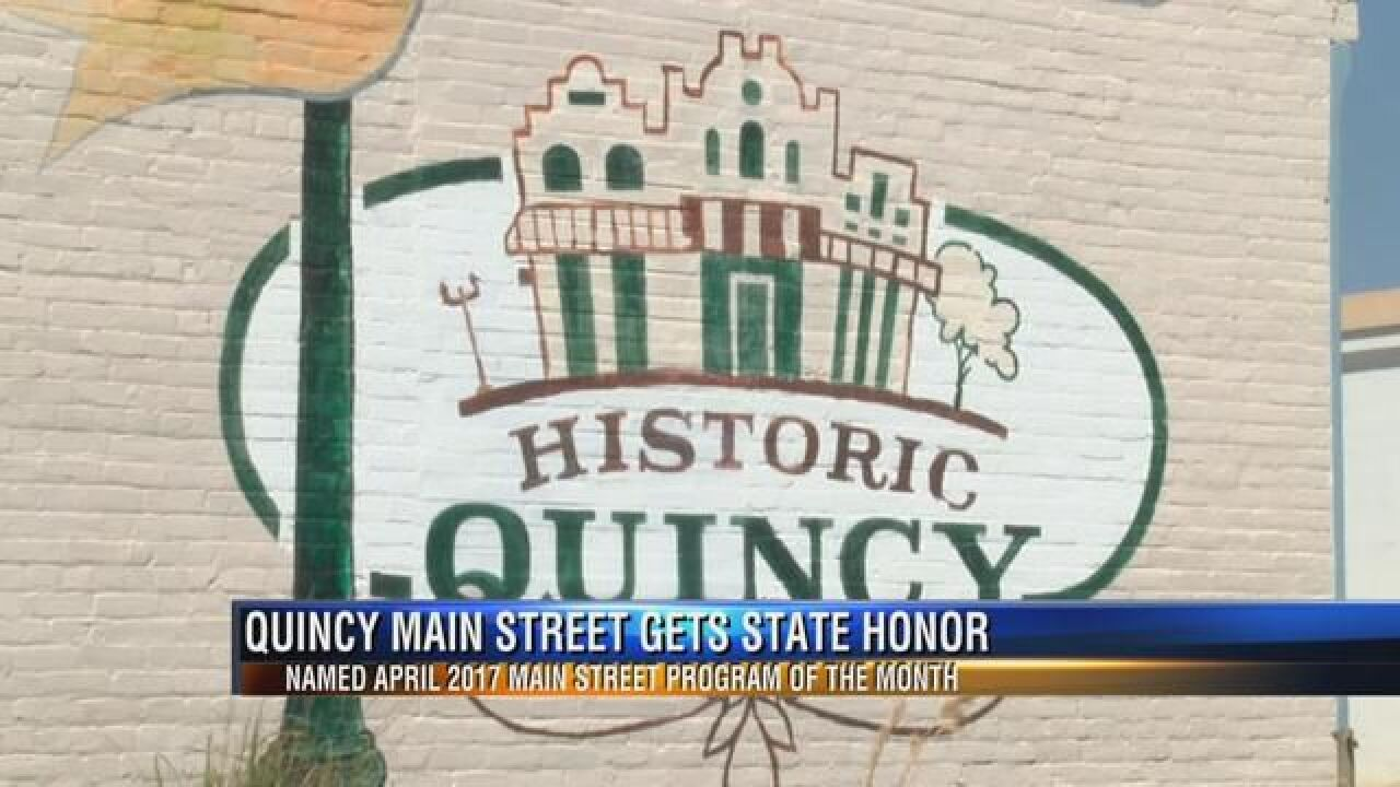 Quincy Announced as the 'April 2017 Main Street Program of the Month'