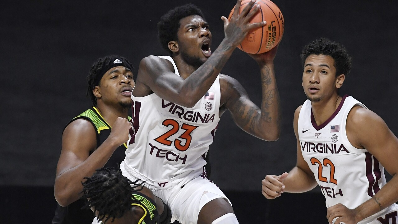 South Florida Virginia Tech Basketball