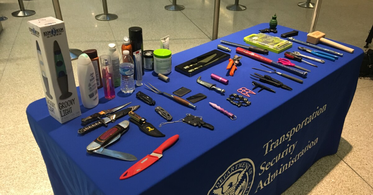 TSA reminder about what to pack in carry-on bags