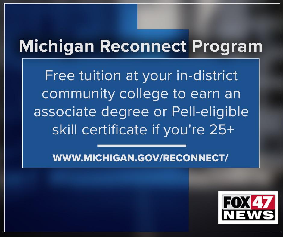 Michigan Reconnect Program
