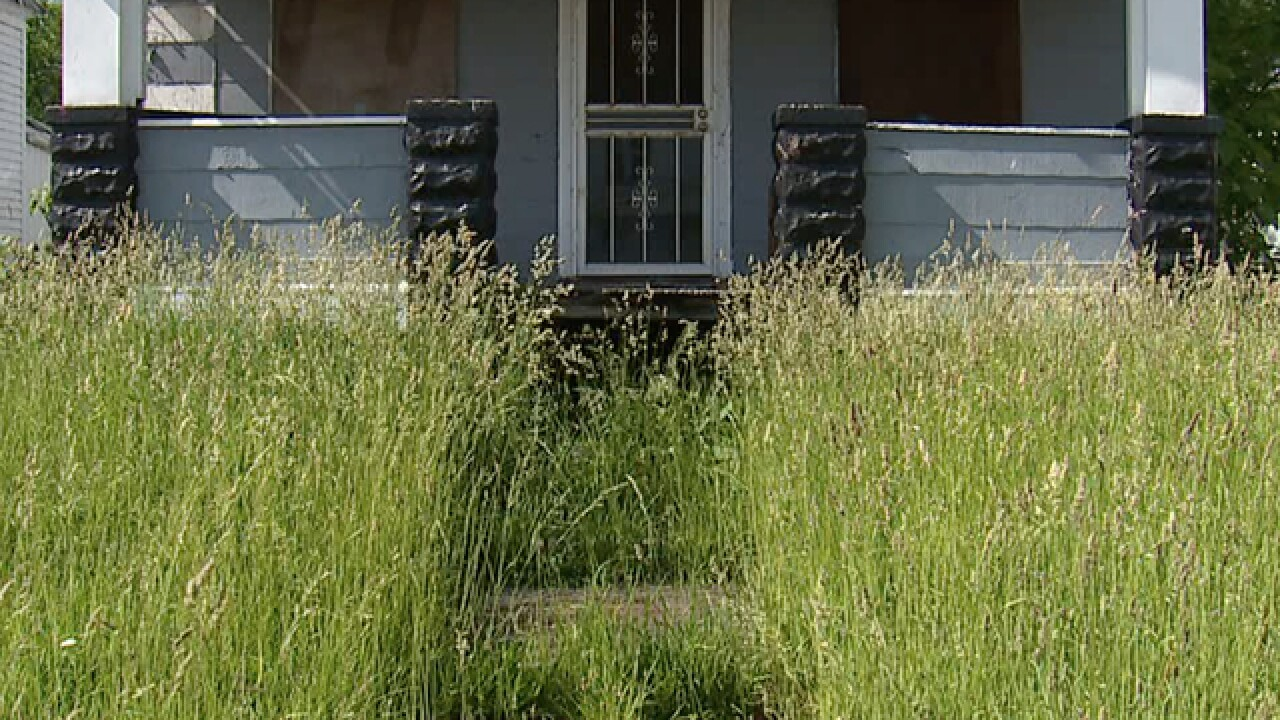 Residents in Cleveland report a spike in homes, lots in